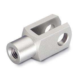 DIN 71752 Metric Size, Stainless Steel Clevis Fork Joint, Plain Fork Type