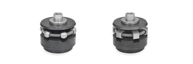 Centering bore clamps