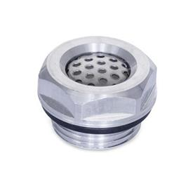 GN 7404 Aluminum Pressure Equalization Plugs, Oil / Water Repellent