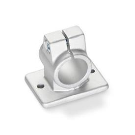 GN 146.3 Aluminum, Flanged Connector Clamps