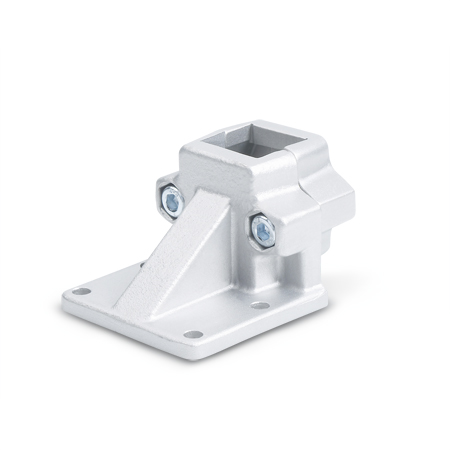 GN 166 Aluminum, Off-Set Base Plate Connector Clamps