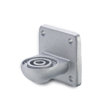GN 272 Aluminum, Swivel Clamp Connector Bases