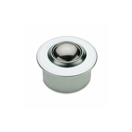 GN 509 Steel and Stainless Steel  Ball Transfer Units