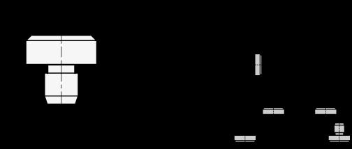 GN 6321.1 Vástagos de asiento, de acero boceto