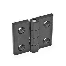 EN 239.3 Plastic Hinges without Integrated Switch, To Accompany EN 239.4 Hinges with Integrated Switch