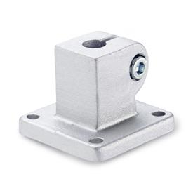 GN 162 Aluminum,  Base Plate Connector Clamps