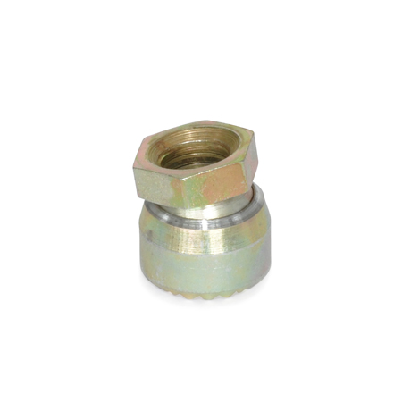 STP Steel or Stainless Steel Serrated Toggle Pads