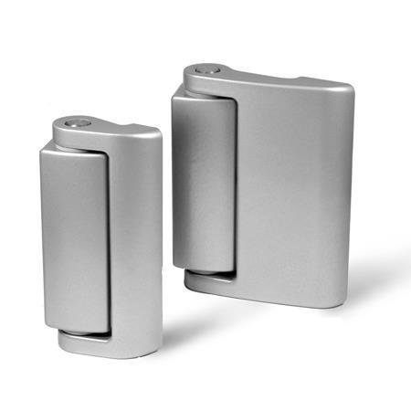 GN 139.2 Zinc Die-Cast Hinges, Without Safety Switch