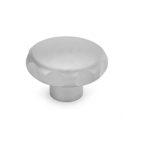 GN 5335.4 Stainless Steel Star Knobs, Blank