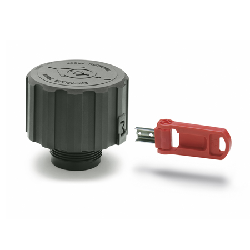 EN 775 Tapones de ventilación de plástico, con filtro y válvula doble, anti-vandalismo
