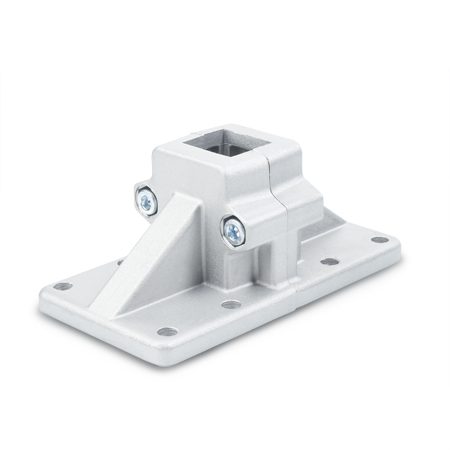GN 167 Aluminum, Split Assembly, Wide Base Plate Connector Clamps