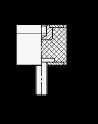 GN 351.2 Soportes aisladores de vibración, de tipo cilíndrico, con componentes de acero boceto