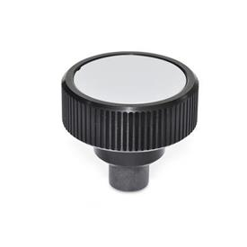 GN 3663 Aluminum Torque Limiting Knurled Knobs, with Steel Insert