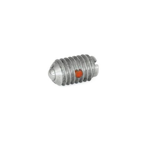 SBP Stainless Steel Ball Plungers, With Stainless Steel Ball