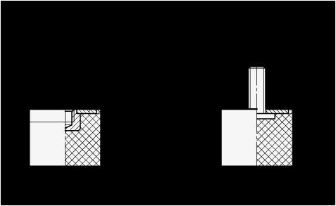 GN 452 Soportes de absorción de vibración/impacto, de tipo cilíndrico, con componentes de acero inoxidable boceto