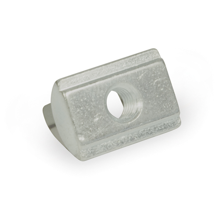 GN 506.2 Steel T-Nuts with Spring Washer, For Aluminum Extrusions