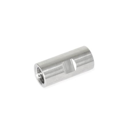 GN 480.8 Stainless Steel Thread Adapters, Thread / Thread