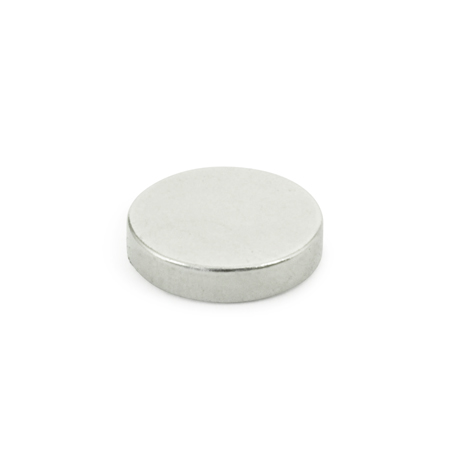 GN 55.2 Steel Raw Magnets, Disc-shaped