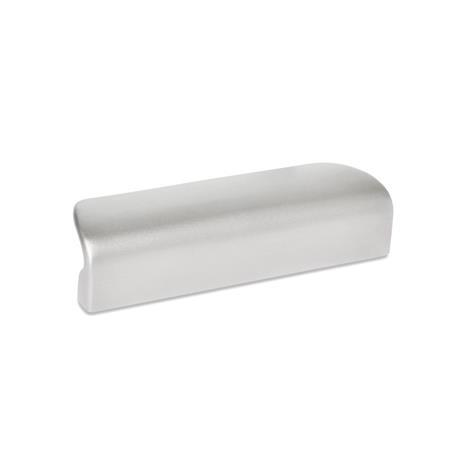 GN 730.5 Stainless Steel Ledge Handle, with Tapped Holes