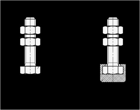 GN 807 Topes de apriete de abrazadera de palanca, de acero inoxidable, con o sin tapón protector a presión boceto
