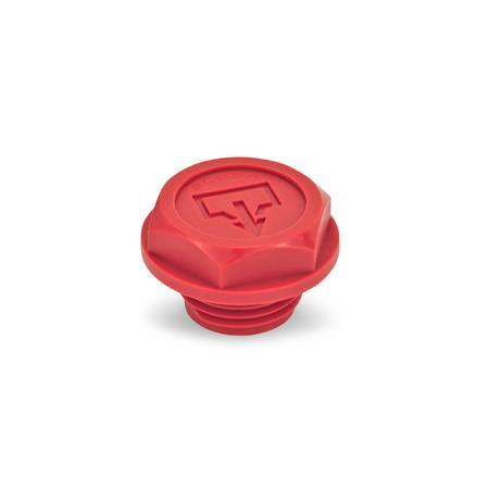 EN 740.2 Plastic Oil Drain Plugs, with Recessed Seal