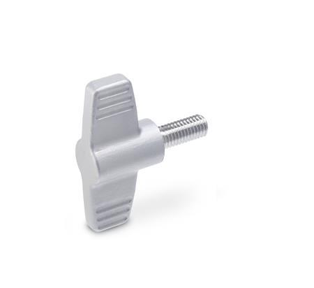 GN 835 Stainless Steel, Wing Screws