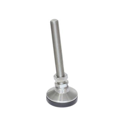 "SNSM Stainless Steel ""Snap-Lock""™ Non-Skid Leveling Mounts, Threaded Stud Type"
