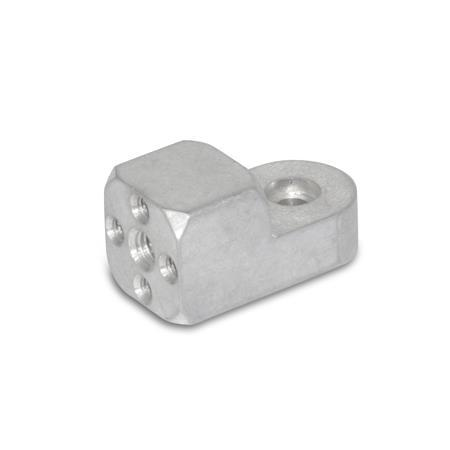 GN 484 Aluminum, Attachment clamp mountings
