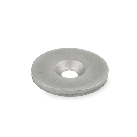 GN 70 Stainless Steel Magnet Holding Disks, for retaining magnets
