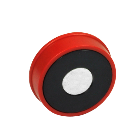 GN 53.1 Plastic Retaining Magnets, disc-shaped, without thread