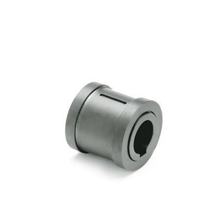 GN 000.4 Steel Safety Clutch Assemblies, for Safety Clutch Handwheels, with Friction Bearing