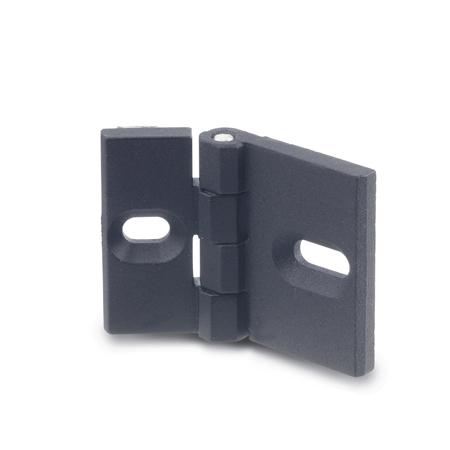 GN 161 Zinc Die-Cast Hinges, for Aluminum Profiles