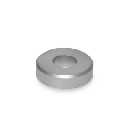 GN 6341 Arandelas de acero inoxidable Tipo: A - con orificio cilíndrico