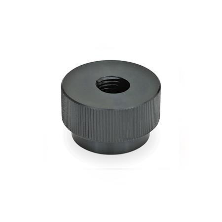 GN 6303.1 Steel, Quick release knurled nuts, Steel
