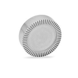 GN 187.4 Placas de bloqueo dentadas de acero inoxidable Tipo: E - sin perforaciones, sin mecanizar, no endurecido