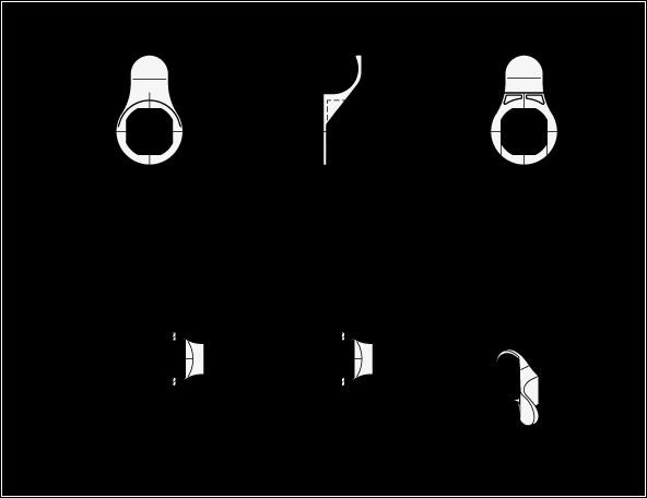 GN 120.1 Jaladeras de apertura boceto