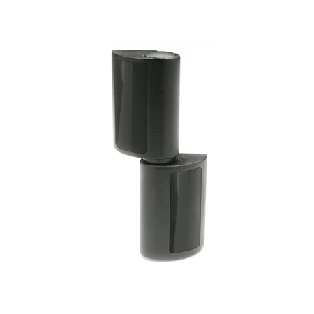EN 160.1 Technopolymer Plastic Lift-Off Hinges, with Eccentric Pin