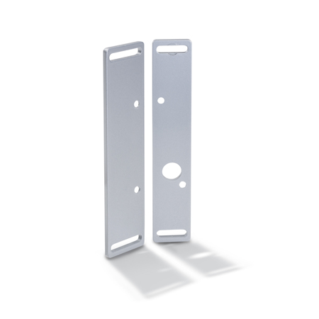 GN 139.3 Zinc Die-Cast Flat Mounting Plates, For GN 139.1 and GN 139.2 Hinges