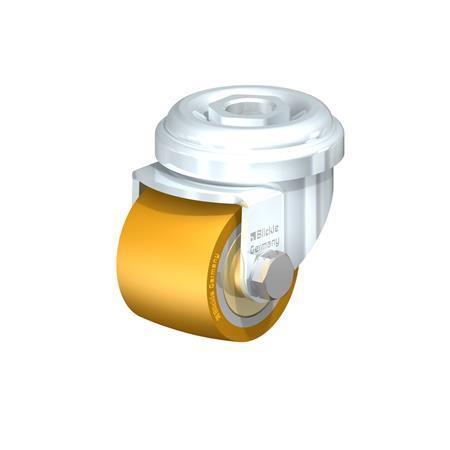 LRA-VSTH Rodajas giratorias de acero de servicio ligero con banda Extrathane®, ajuste con agujero para perno Type: K - Cojinete de bolas