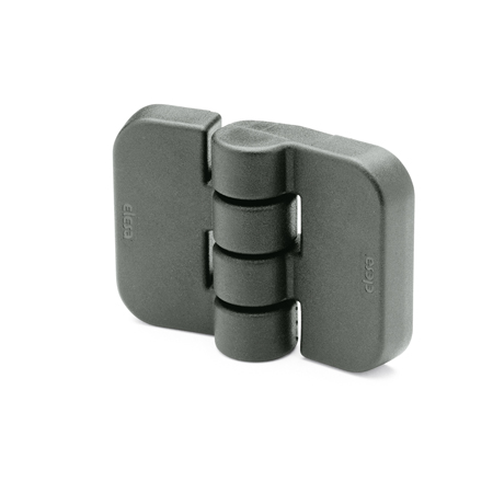 EN 158 Technopolymer Plastic Hinges, with Three Mounting Options