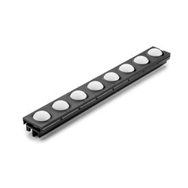 EN 646.2 Plastic Conveyor Ball Track for Ball Rail Assemblies