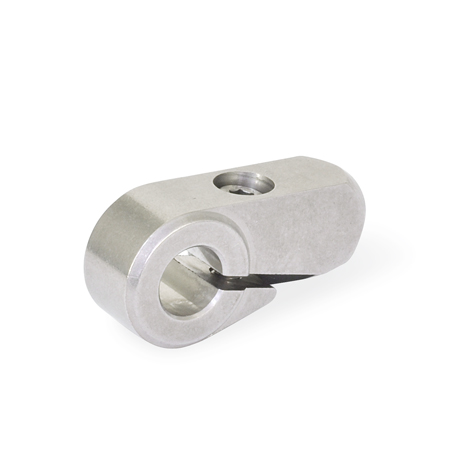 GN 150.5 Stainless Steel Split Hubs, for Gear Lever Handles