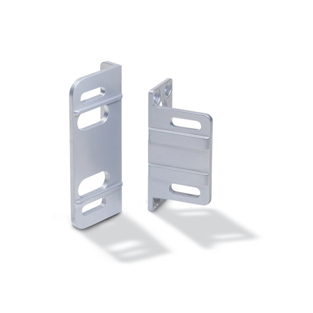 GN 139.4  Zinc Die-Cast Angled Mounting Plates, For GN 139.1 and GN 139.2 Hinges
