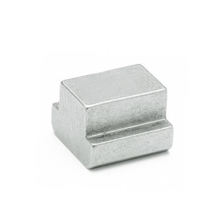 DIN 508 Stainless Steel T-Slot Nuts, without thread