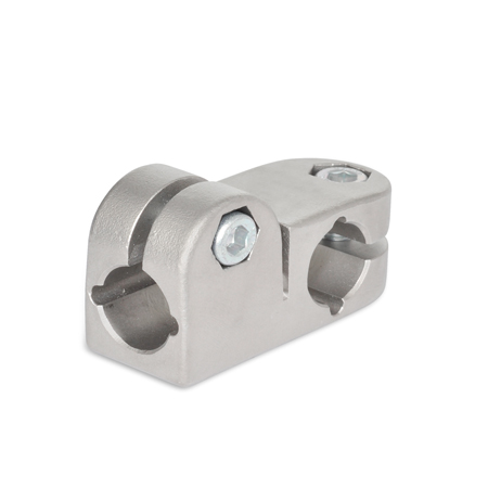 GN 191 Stainless Steel, T-Angle Connector Clamps