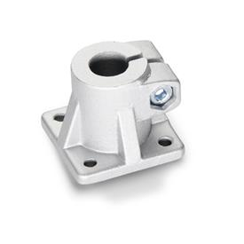 GN 163 Aluminum, Base Plate Connector Clamps