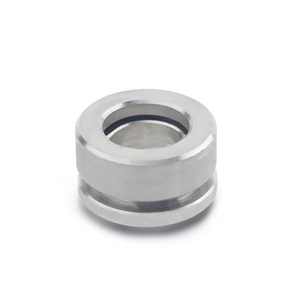 GN 6319.1 Stainless Steel Spherical Washers, Seat and Dished Combined Type