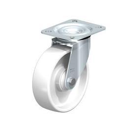 L-PO Estampado de acero zincado, con placa de montaje, serie de soportes estándar  Type: K - Cojinete de bolas