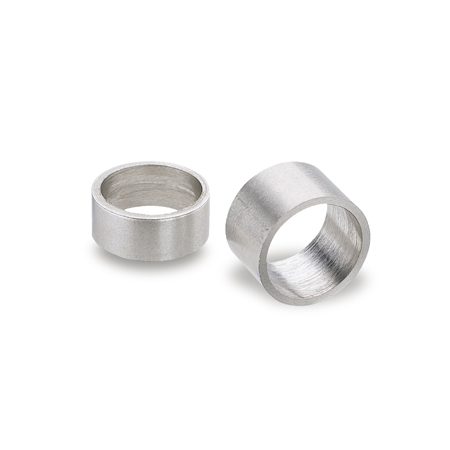 GN 609.5 Stainless Steel Spacer Bushings, for indexing plungers
