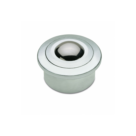 GN 509.1 Steel and Stainless Steel Heavy Duty Ball Transfer Units